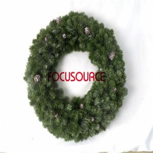 Artificial Grass Wreaths-HY159-B-Φ60-G-F-085