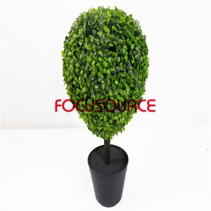 Umjetna trava Ball Bonsai-28 × 28 × 50 cm 3 sloj milan trava loptu saksiji