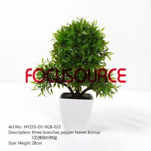 Artificial Small Bonsai Tree-HY255-D1-H28-023