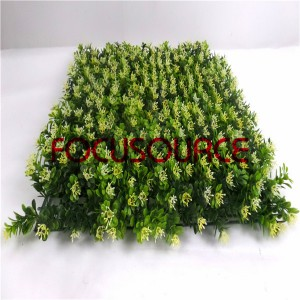 Artificial Grass Turf-HY0948S-324FL 5 layer milan with flower  50X50CM GN001-YL