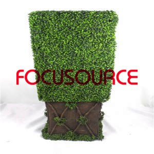 Artificial Boxwood Topiary Tower -HY08102-J5-H124-001