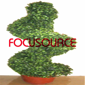 Artificial Boxwood Topiary Spiralni Tree -HY08104-J3-H80-007